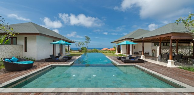 Villa Marie in Pandawa Cliff Estate, Pool With Ocean View