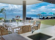Villa Marie in Pandawa Cliff Estate, Dining With Ocean View